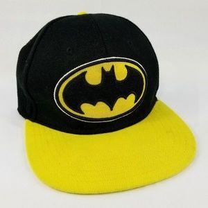 DC Comics Batman Hat Snap-back Cap Yellow/Black